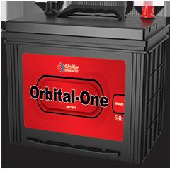 باتری اوربیتال وان 70 آمپر پایه بلند