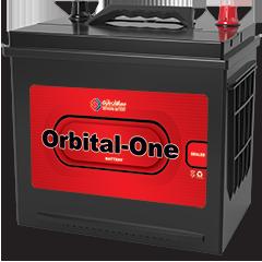 باتری اوربیتال وان قرمز ۶۰ آمپر پایه بلند